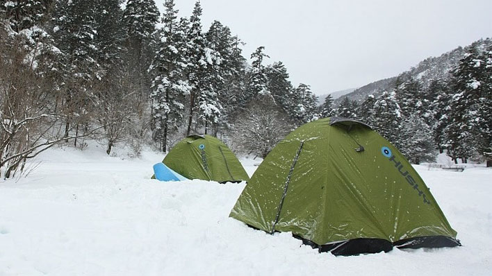 kışın kamp