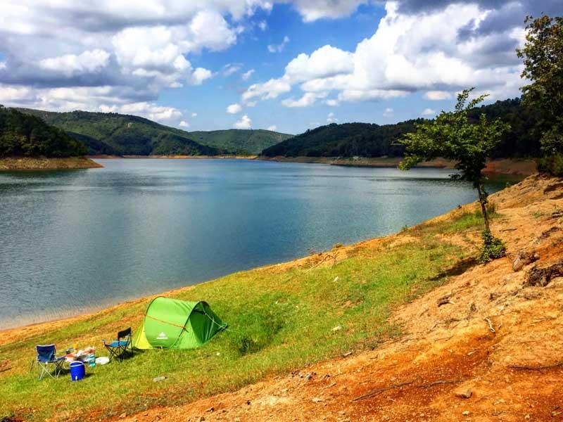 darlık barajı kamp