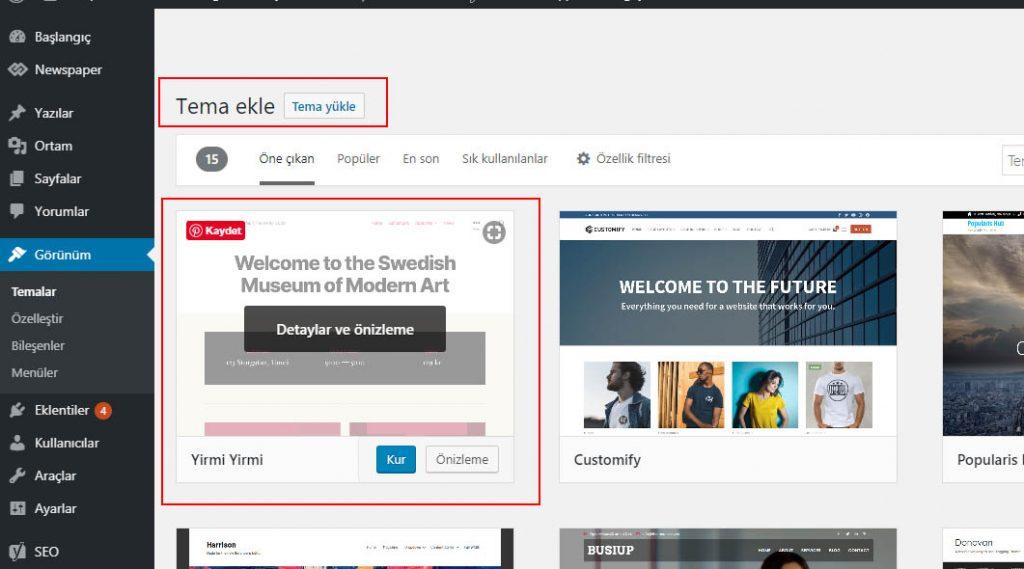 blog sayfası nasıl açılır