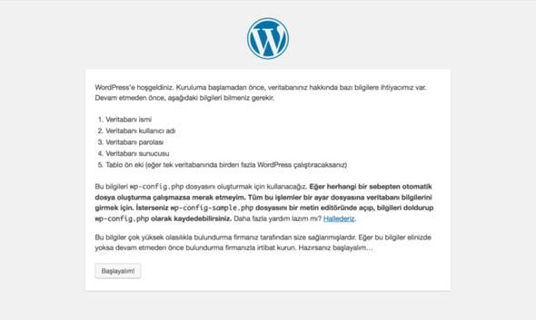 wordpress blog sitesi kurmak