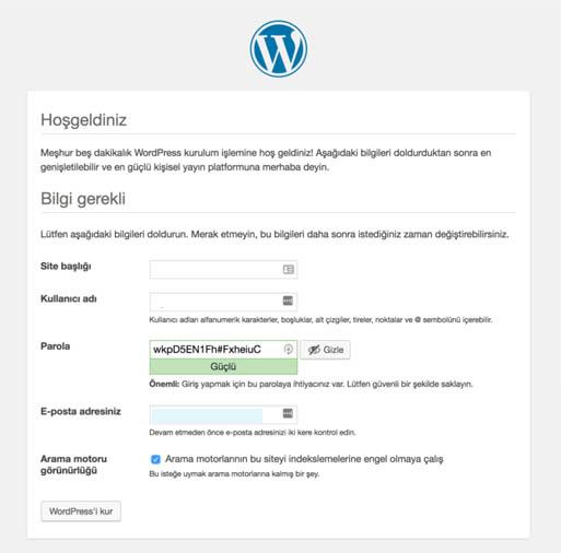 blog sitesi kurmak