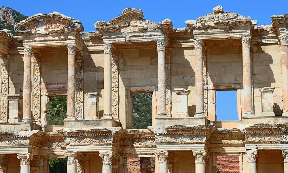 efes antik kenti celcus kütüphanesi
