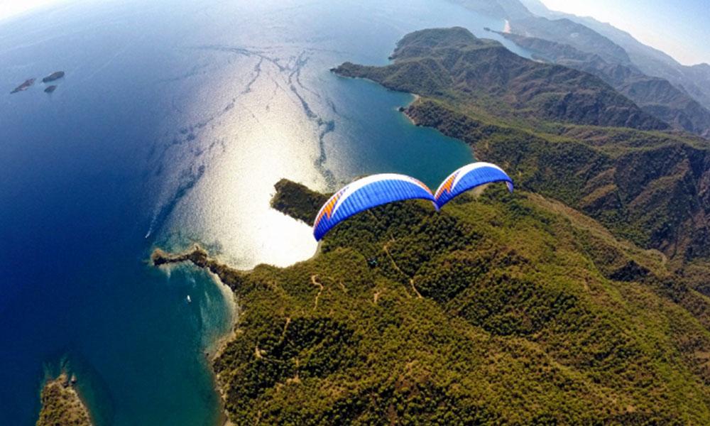 olimpos yamaç paraşütü