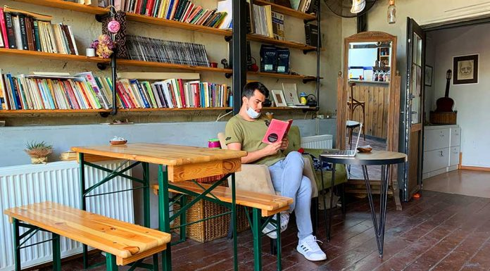 kitaplı kahve istanbul