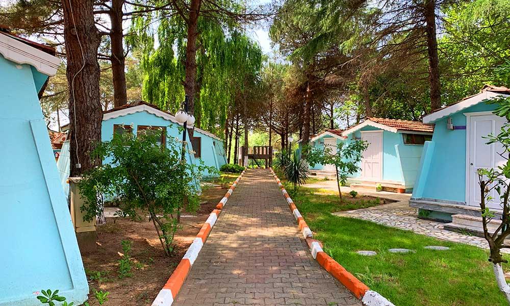 Shila Dört Mevsim Tatil Köyü » Şile Bungalov Evler