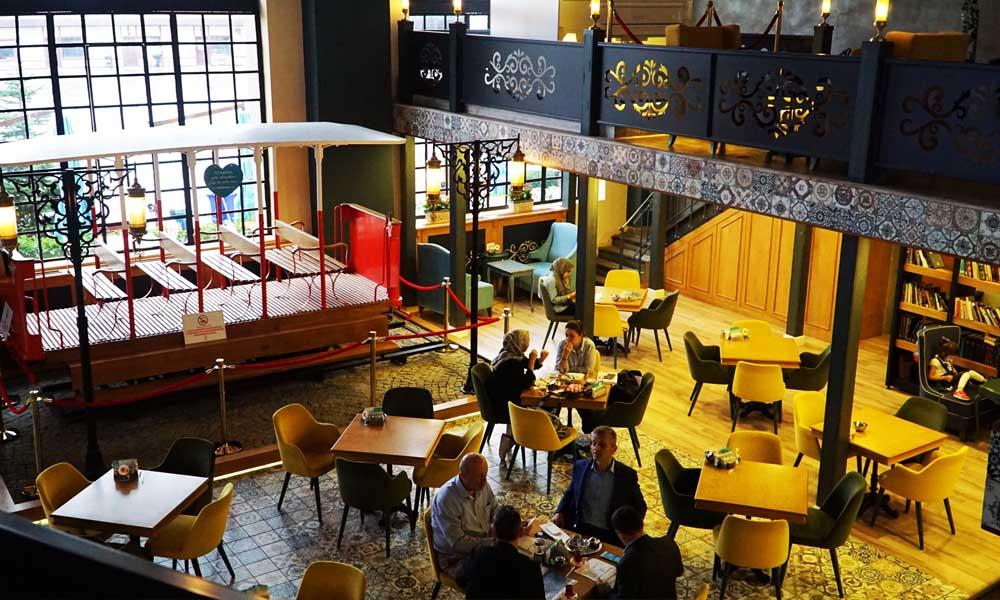Nevmekan Bağlarbaşı » İstanbul En İyi Kitap Kafe Mekanları